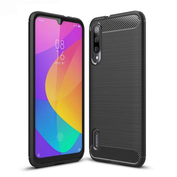 Xiaomi Mi A3 - Coque gel brossé carbone