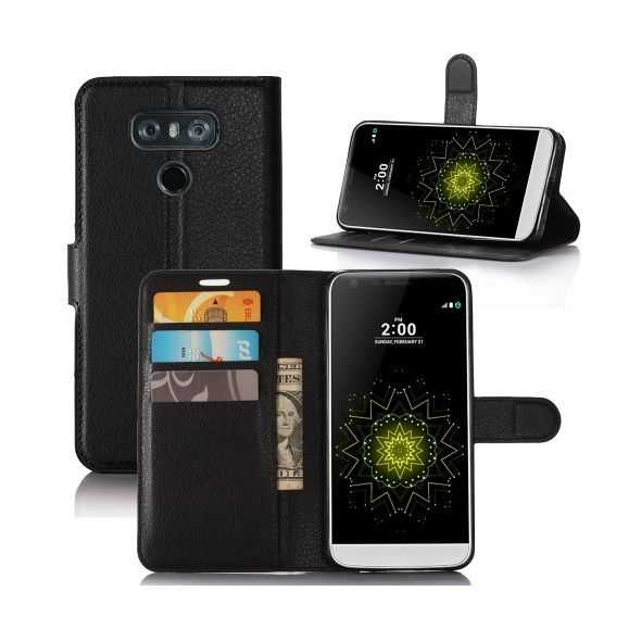 Housse LG G6 Style Cuir Support