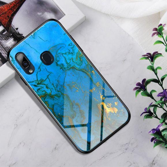 Samsung Galaxy A20e - Coque Skyler dos en verre