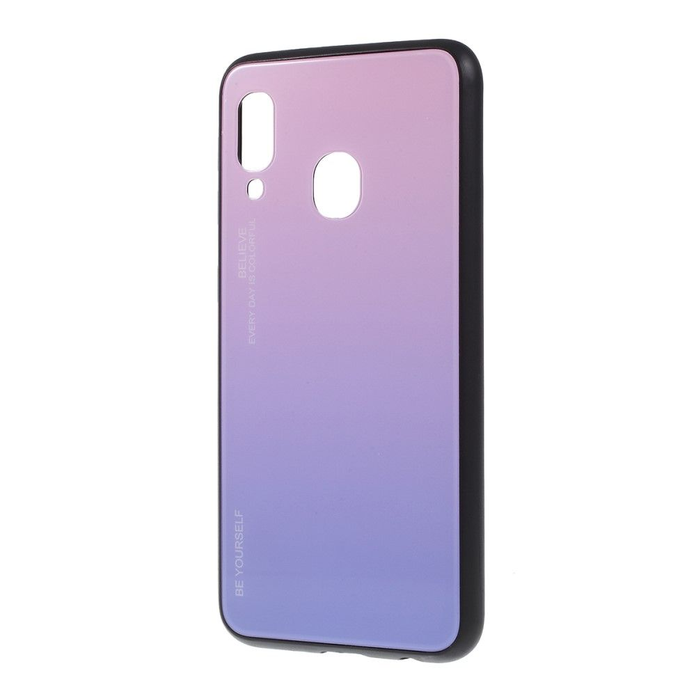 Samsung Galaxy A20e - Coque dégradé de couleurs