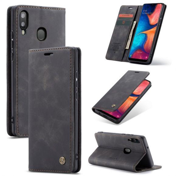 Samsung Galaxy A20e - Housse Golias imitation cuir