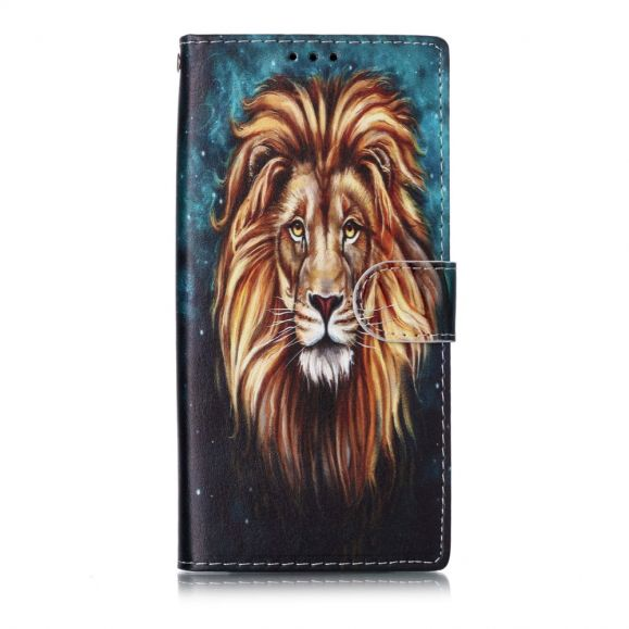 Samsung Galaxy Note 10 - Housse portrait lion