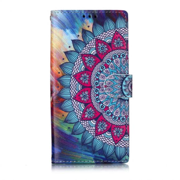 Samsung Galaxy Note 10 - Housse mandala fleur