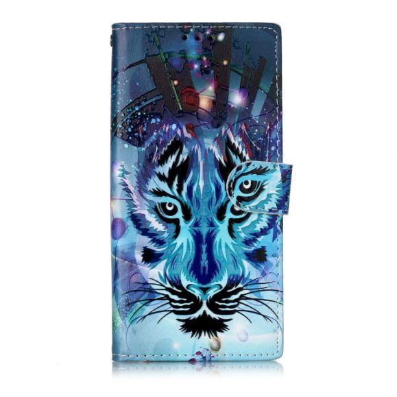 Samsung Galaxy Note 10 - Housse Tigre artistique