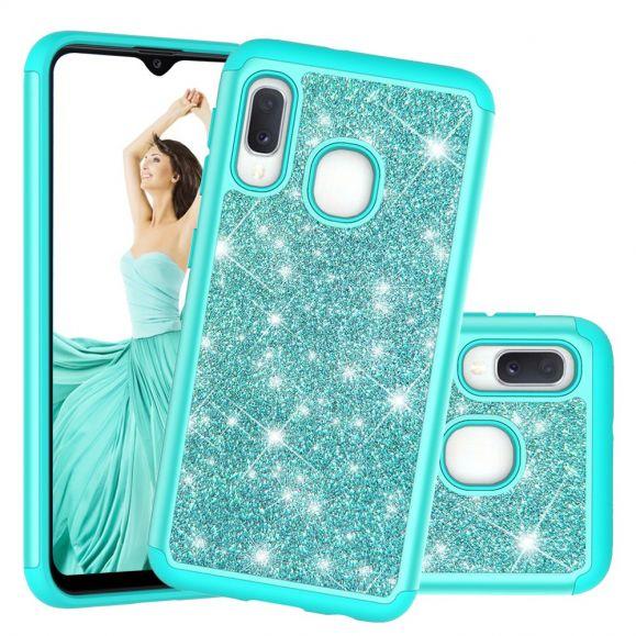 Samsung Galaxy A20e - Coque La Delphine paillettes protectrice
