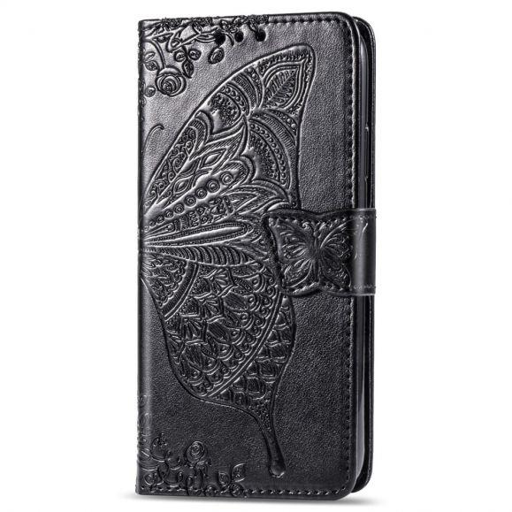 Samsung Galaxy A20e - Étui papillon relief