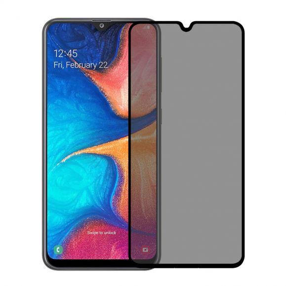 Samsung Galaxy A20e - Protection d'écran verre trempé et filtre de confidentialité
