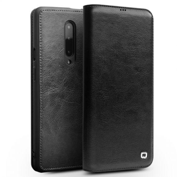 OnePlus 7 Pro - Étui fait main en cuir véritable