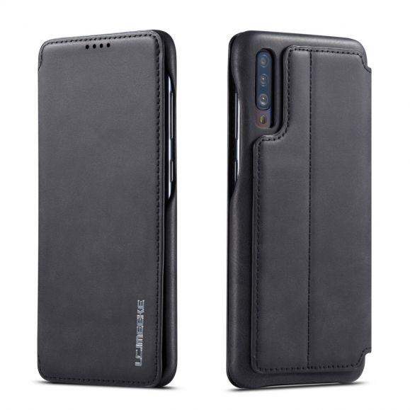 Samsung Galaxy A70 - Coque avec rabat simili cuir
