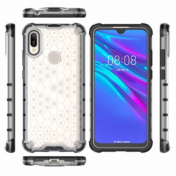 Huawei Y6 2019 - Coque Honeycomb protectrice