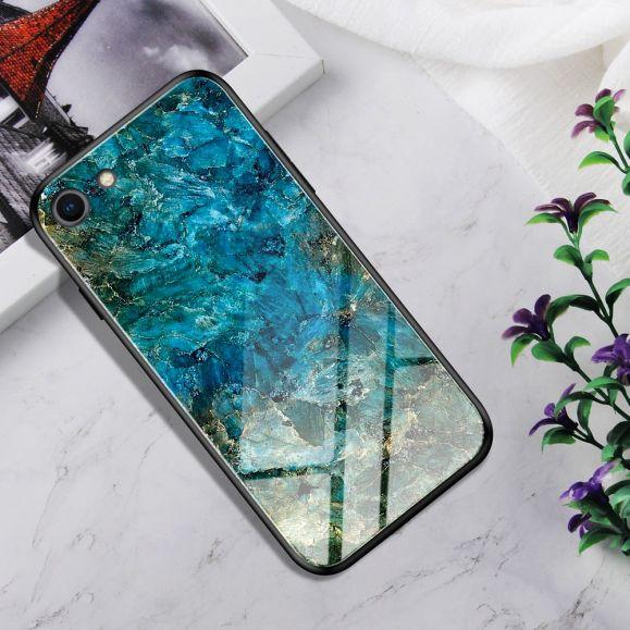 iPhone 8 / 7 - Coque Jade dos en verre