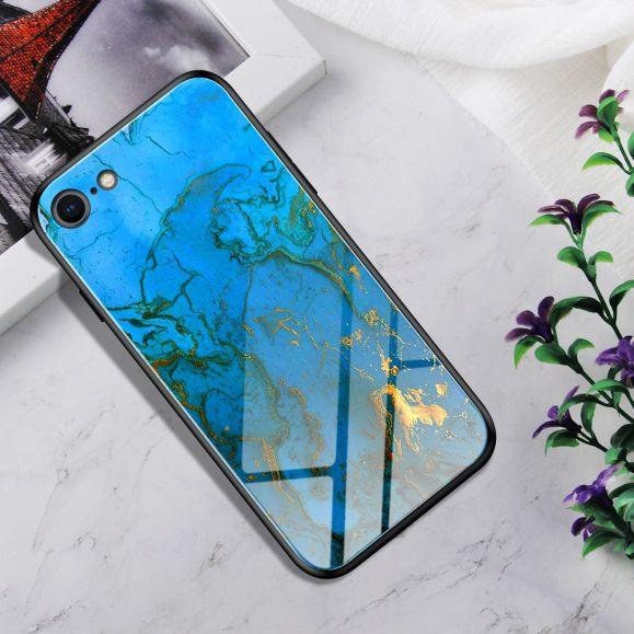 iPhone 8 / 7 - Coque Skyler dos en verre