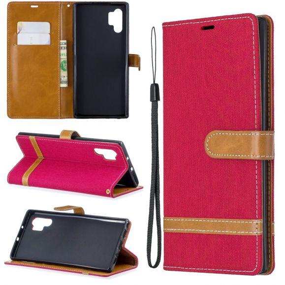 Samsung Galaxy Note 10 Plus - Housse revêtement tissu