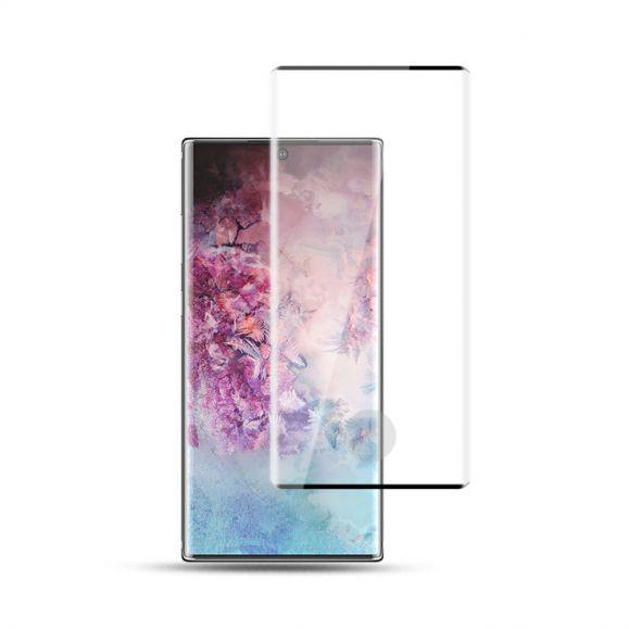 Protection d'écran Samsung Galaxy Note 10 Plus en verre trempé full size - Noir
