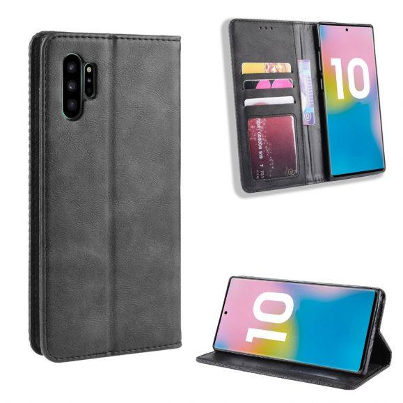 Samsung Galaxy Note 10 Plus - Housse Le Cirénius style cuir