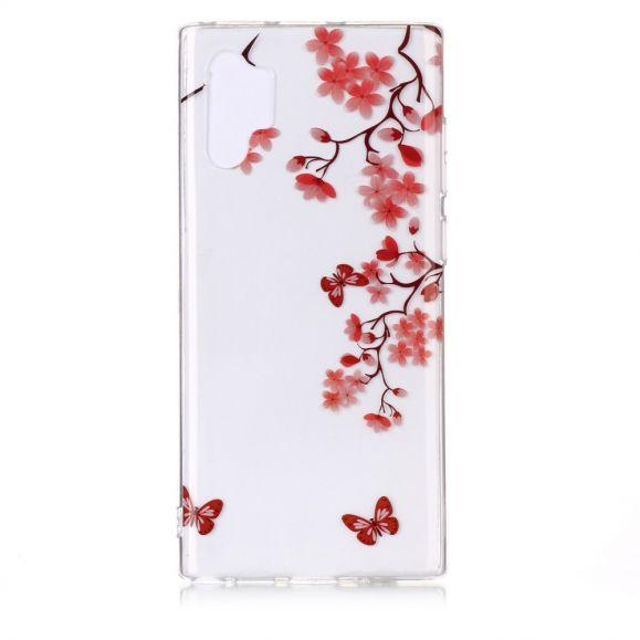 Samsung Galaxy Note 10 Plus - Coque papillons romantique