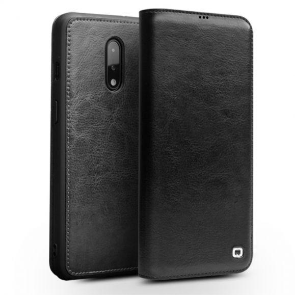 OnePlus 7 - Étui fait main en cuir véritable