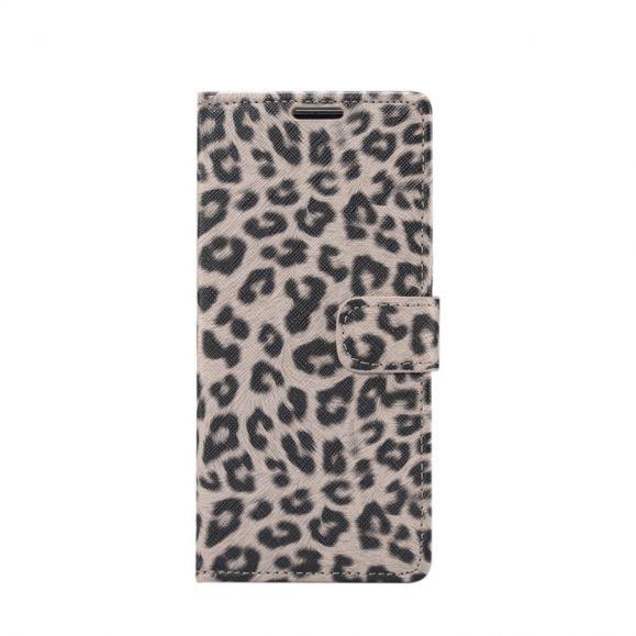 Samsung Galaxy Note 10 - Housse steel léopard