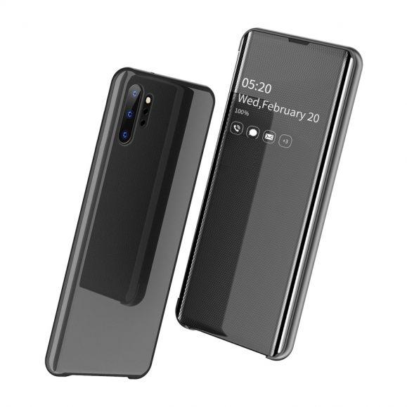 Samsung Galaxy Note 10 Plus - Coque avec rabat effet miroir