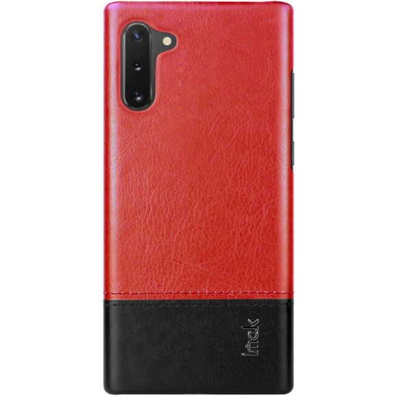 Samsung Galaxy Note 10 - Coque imak bicolore imitation cuir