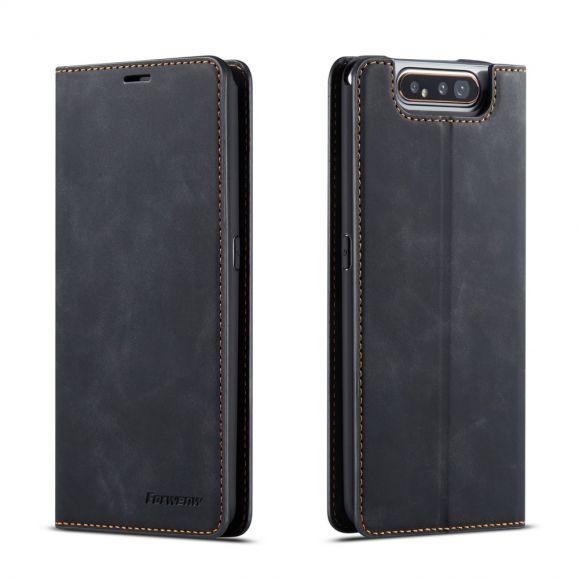 Samsung Galaxy A80 - Housse Fantasy Serie Mat Simili Cuir