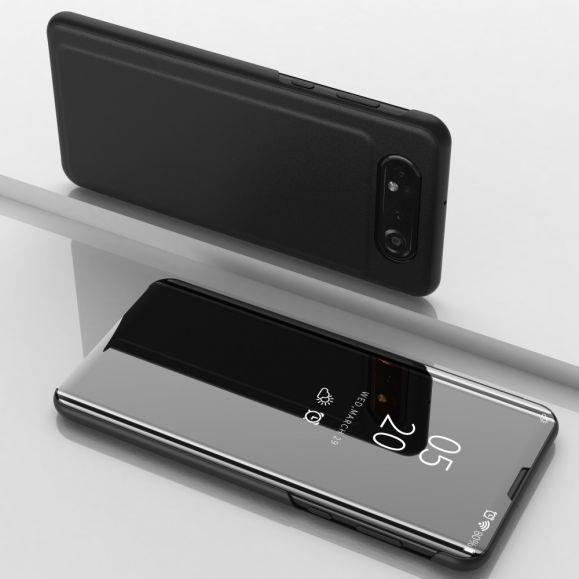 Samsung Galaxy A80 - Coque avec rabat effet miroir