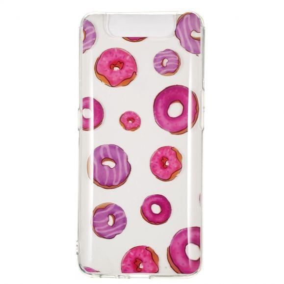 Samsung Galaxy A80 - Coque motifs donuts