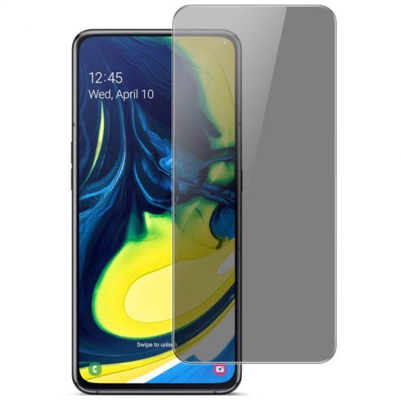 Samsung Galaxy A80 - Protection d'écran verre trempé et filtre de confidentialité