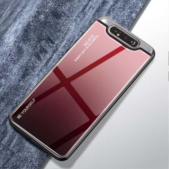 Samsung Galaxy A80 - Coque dégradé de couleurs