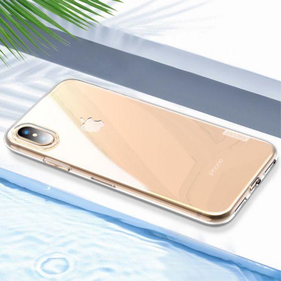iPhone XS / X - Coque transparente X-LEVEL