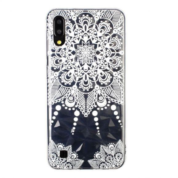 Samsung Galaxy A10 - Coque fleurs dentelle