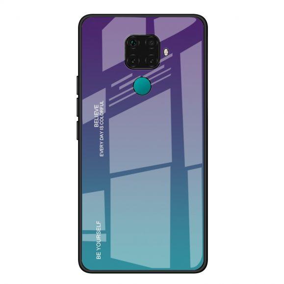 Huawei Mate 30 Lite - Coque dégradé de couleurs