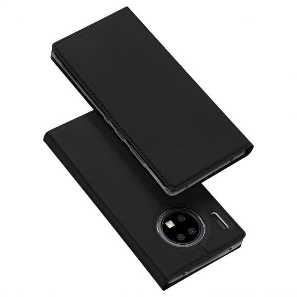 Huawei Mate 30 Pro - Housse revêtement satiné porte carte