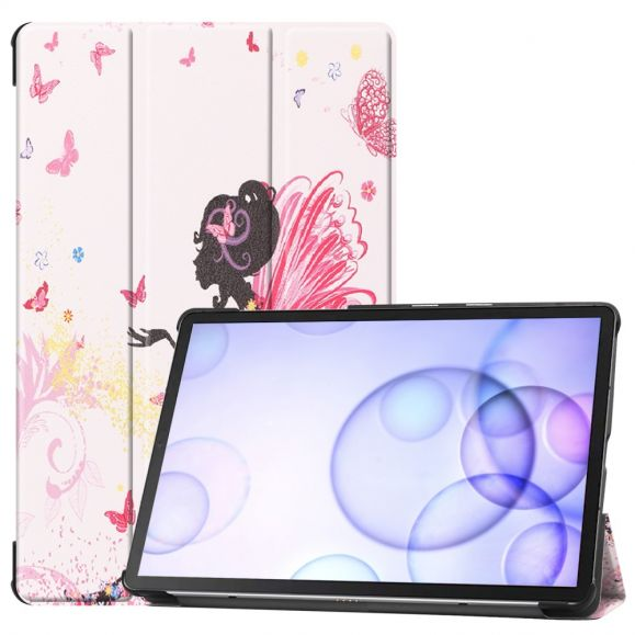 Samsung Galaxy Tab S6 - Coque avec rabat intelligent Fairy