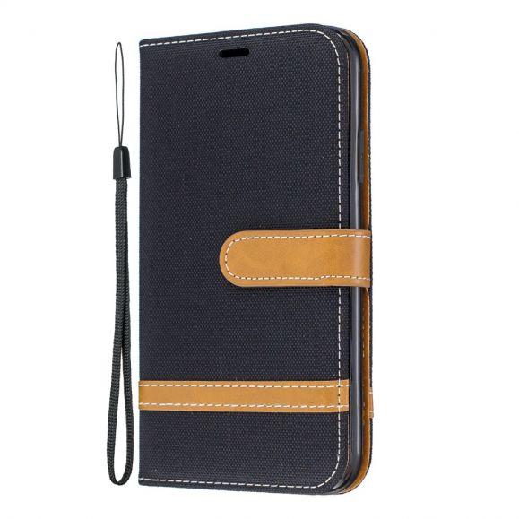 iPhone 11 - Étui revêtement tissu avec lanière