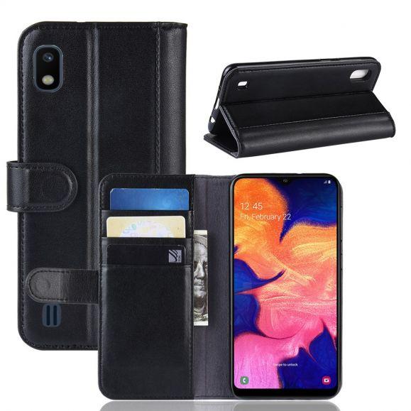 Samsung Galaxy A10 - Housse cuir premium