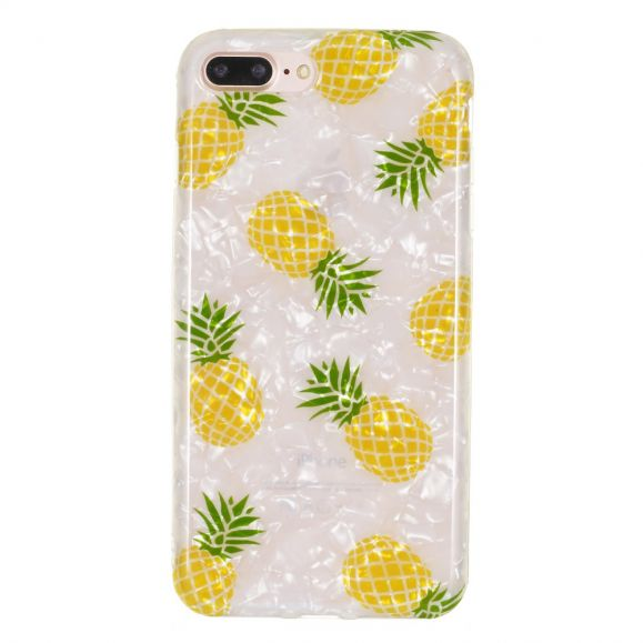 iPhone 8 Plus / 7 Plus - Coque silicone ananas