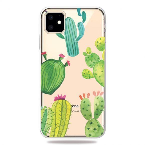 iPhone 11 - Coque transparente Cactus