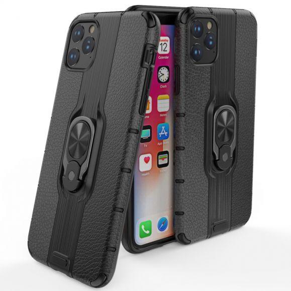 iPhone 11 - Coque effet cuir avec support intégré