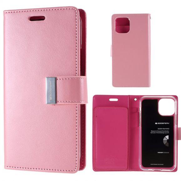 iPhone 11 - Housse Mercury imitation cuir premium