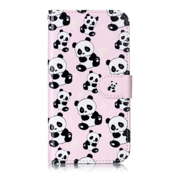 iPhone 11 - Housse multiples pandas