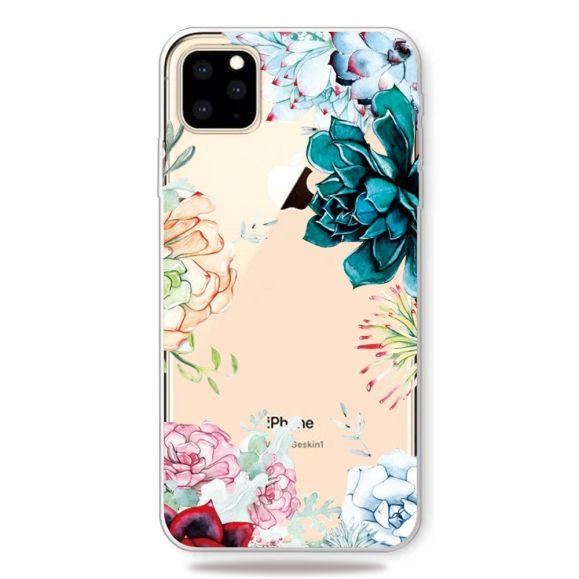 iPhone 11 Pro Max - Coque variété de fleurs