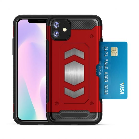 iPhone 11 Pro Max - Coque armor porte carte