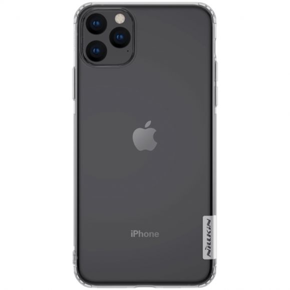 iPhone 11 Pro Max - Coque gel nature transparente