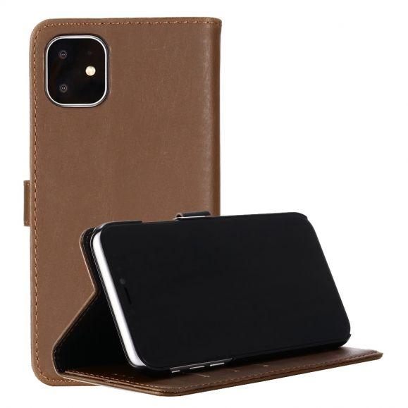 iPhone 11 Pro - Housse La Lisa simili cuir rétro