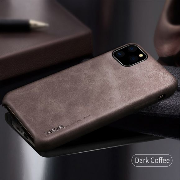 iPhone 11 Pro - Coque vintage serie imitation cuir