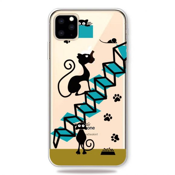 iPhone 11 Pro Max - Coque illustration chat