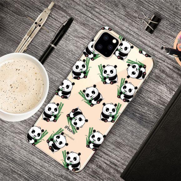 iPhone 11 Pro Max - Coque multiples pandas