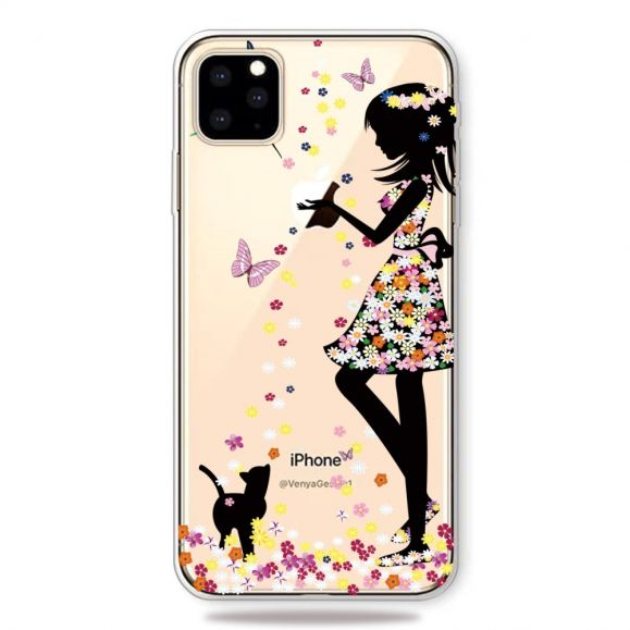iPhone 11 Pro Max - Coque Dame Papillons
