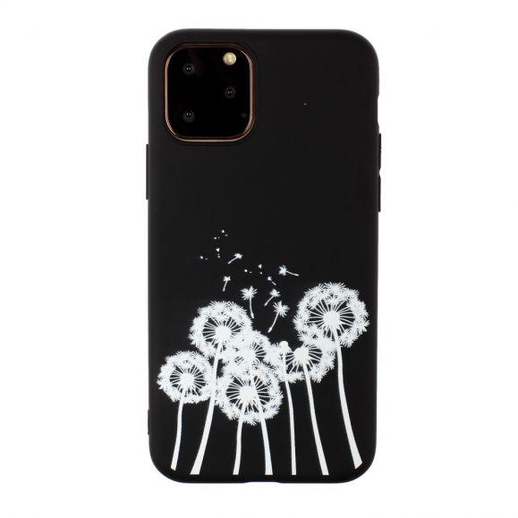iPhone 11 Pro Max - Coque silicone pissenlits blancs
